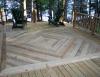 Deck staining - Adirondacks, NY